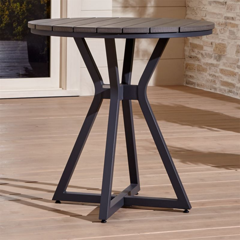 High Round Dining Table: Union Round Pub High Dining Table