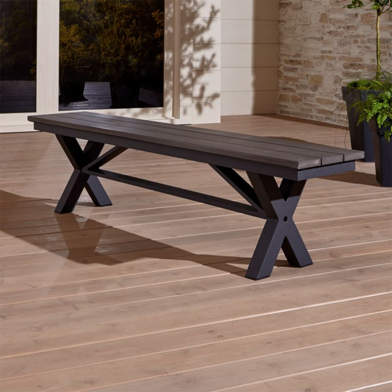 "Union 72"" Trestle Bench"