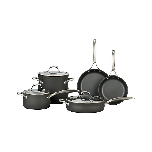 Calphalon Unison ™ Slide & Sear Nonstick 8-Piece Cookware Set with Double Bonus