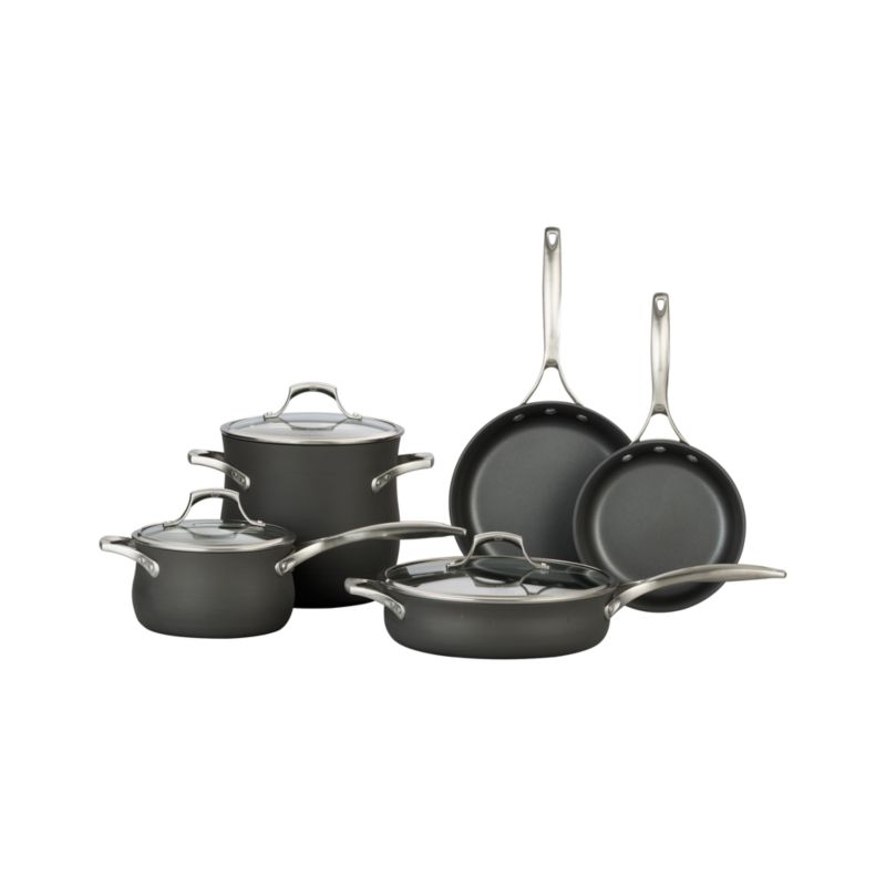Set includes bonus colander ($110.00 value) and bonus everyday pan with lid ($170.00 value).