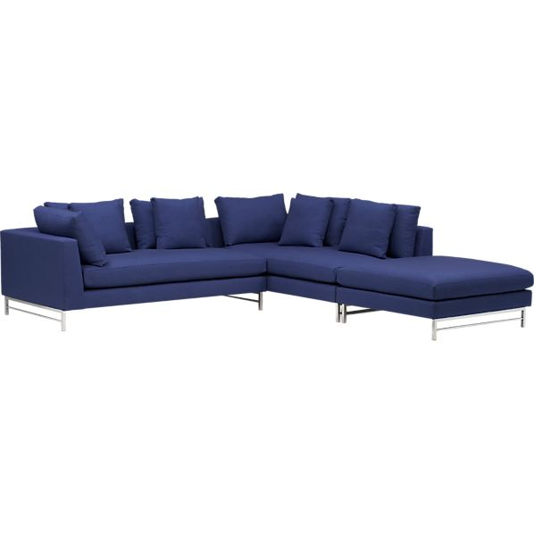 Uptown 3-Piece Left Arm Sectional Sofa