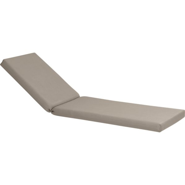 Valencia Sunbrella ® Stone Chaise Lounge Cushion