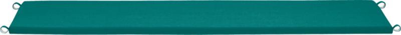 Add extra comfort to Rocha dining bench seating with fade-, water- and mildew-resistant Sunbrella® acrylic cushions in deep harbor blue.  Fabric tab fasteners hold cushion in place.<br /><br /><NEWTAG/><ul><li>Fade- and mildew-resistant Sunbrella acrylic</li><li>Polyurethane foam cushion fill</li><li>Fabric tab fasteners</li><li>Spot clean</li><li>Made in USA</li></ul>