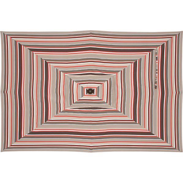 Rectangular Sunbrella ® Valencia Stripe Umbrella Cover