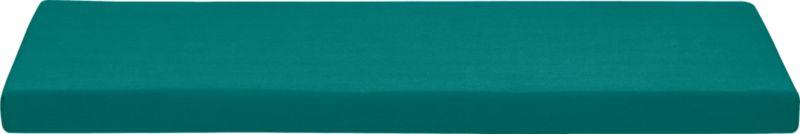 Add extra comfort to Valencia sofa with fade-, water- and mildew-resistant Sunbrella® acrylic cushions in deep harbor blue. Fabric tab fasteners hold cushion in place.<br /><br /><NEWTAG/><ul><li>Fade- and mildew-resistant Sunbrella acrylic</li><li>Polyurethane foam cushion fill</li><li>Fabric tab fasteners</li><li>Spot clean</li></ul>