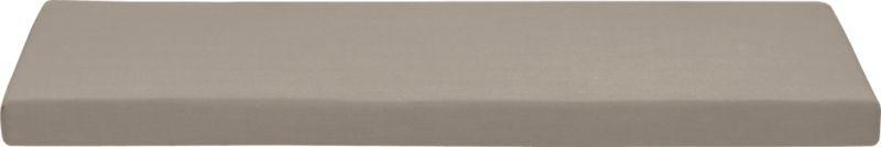 Add extra comfort to Valencia sofa with fade-, water- and mildew-resistant Sunbrella® acrylic cushions in neutral stone. Fabric tab fasteners hold cushion in place.<br /><br /><NEWTAG/><ul><li>Fade- and mildew-resistant Sunbrella acrylic</li><li>Polyurethane foam cushion fill</li><li>Fabric tab fasteners</li><li>Spot clean</li><li>Made in USA</li></ul>