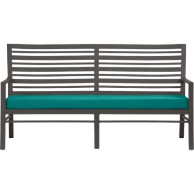Valencia Sofa with Sunbrella® Harbor Blue Cushion