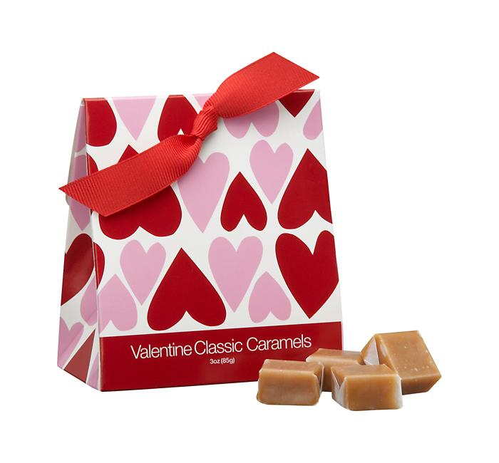 Crate and Barrel - Valentine Classic Caramels shopping at Crate and Barrel