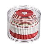 Set of 50 Valentine Cupcake Papers