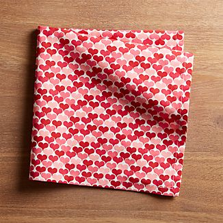 Valentine Hearts Dinner Napkin