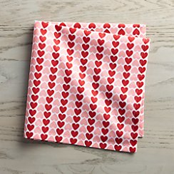 Valentine Heart Napkin