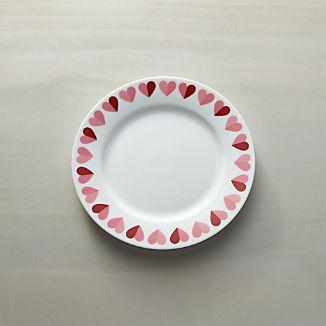 "Valentine 8"" Heart Plate"
