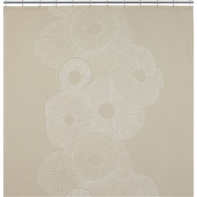 Marimekko Valmuska Almond Shower Curtain