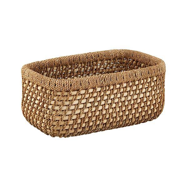 Vanju Small Low Basket