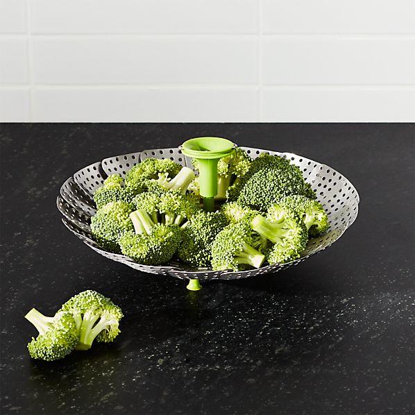 VegetableSteamerWSilicnFtSHF16