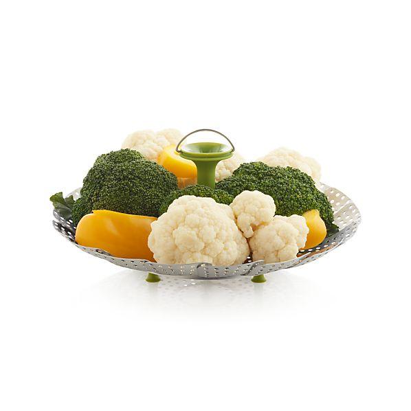 VegetableSteamerWSiliconeFeetAV2S16