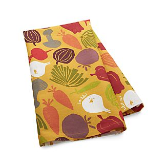 Veggie Jumble Dish Towel