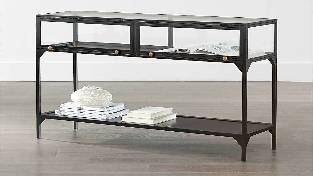 Ventana Console Table Crate And Barrel