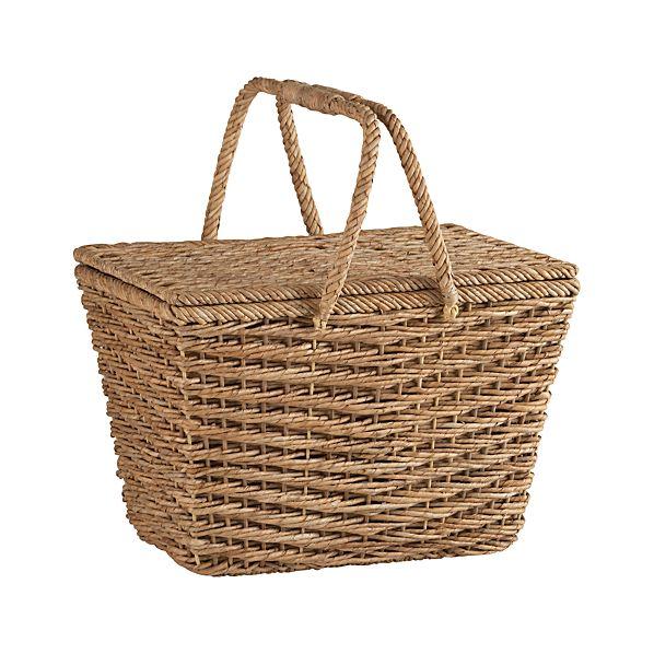 Ventana Natural Picnic Basket, $58