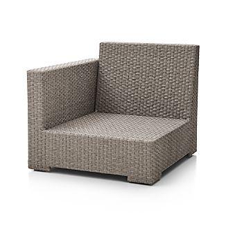 Ventura Quartz Modular Left Arm Chair