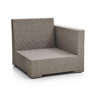 Ventura Quartz Modular Right Arm Chair