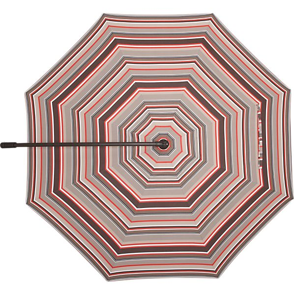 10' Round Sunbrella ® Valencia Stripe Free-Arm Umbrella Cover