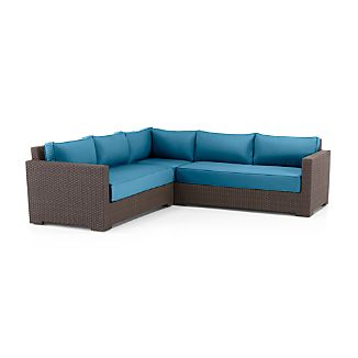 Ventura 3-Piece Sectional with Sunbrella ® Cushions