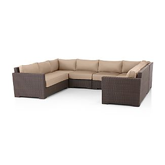 Ventura 6-Piece Sectional with Sunbrella ® Cushions