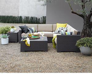 Ventura 4-Piece Sectional with Sunbrella ® Cushions