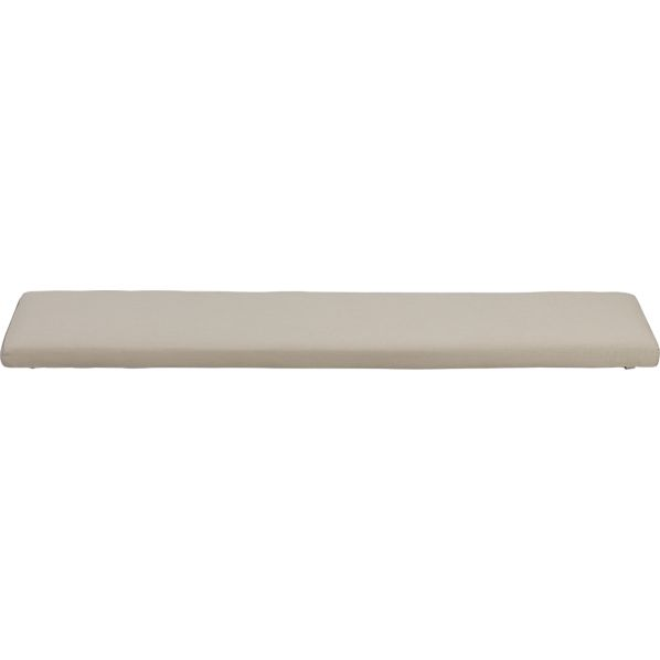 Ventura Sunbrella ® Stone Dining Bench Cushion