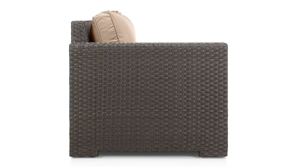 Ventura Umber Modular Left Arm Loveseat