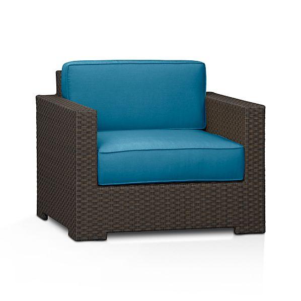 Ventura Lounge Chair with Sunbrella ® Turkish Tile Cushions