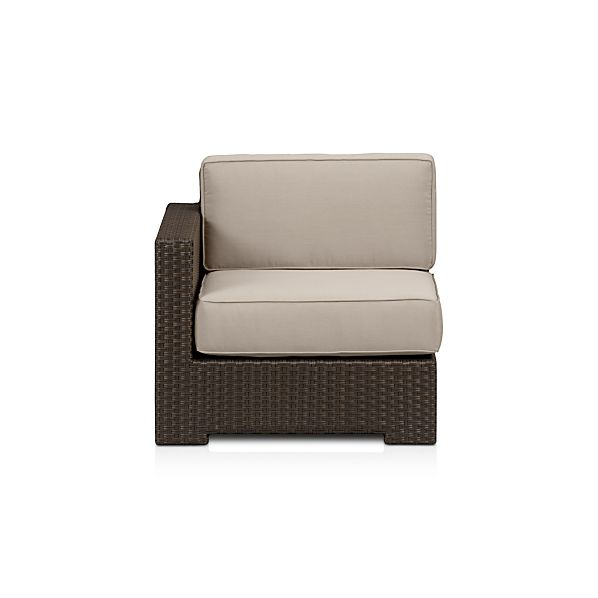 Ventura Modular Left Arm Chair with Sunbrella ® Cushions