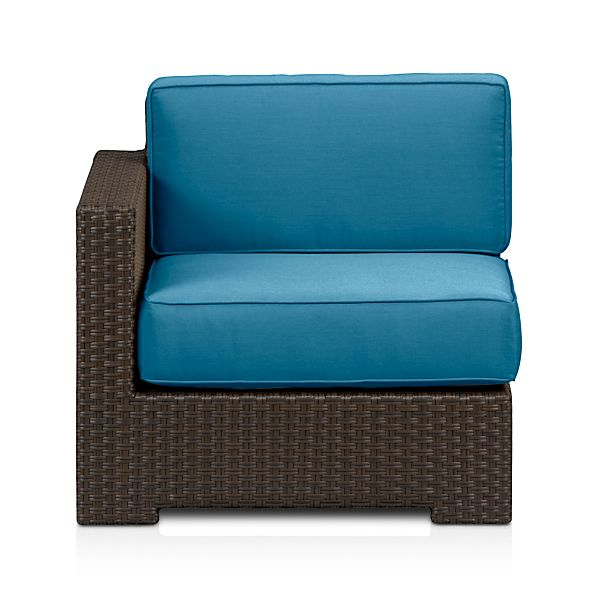 Ventura Modular Left Arm Chair with Sunbrella ® Cushions