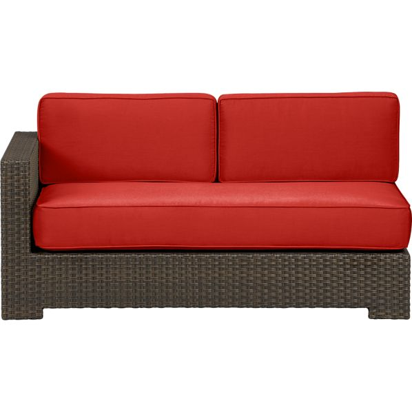 Ventura Modular Left Arm Loveseat with Sunbrella ® Caliente Cushions