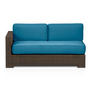 Ventura Modular Left Arm Loveseat with Sunbrella® Turkish Tile Cushions