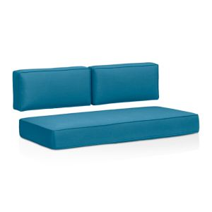 Ventura Sunbrella® Turkish Tile Modular Loveseat Cushions