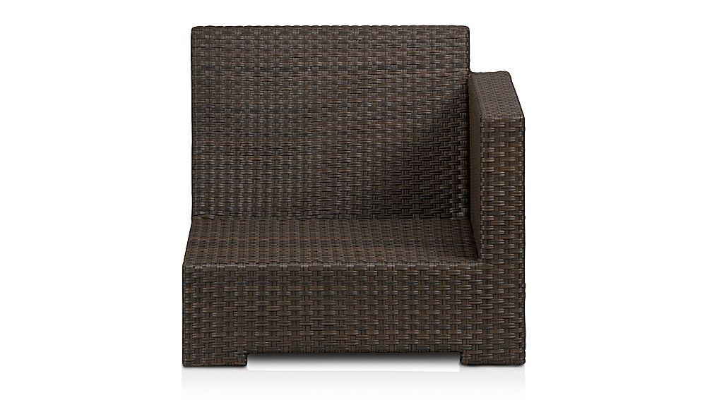 Ventura Umber Modular Right Arm Chair