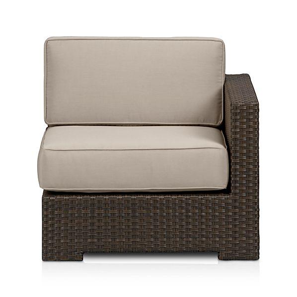 Ventura Modular Right Arm Chair with Sunbrella ® Cushions