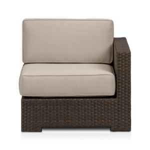 Ventura Modular Right Arm Chair with Sunbrella® Stone Cushions