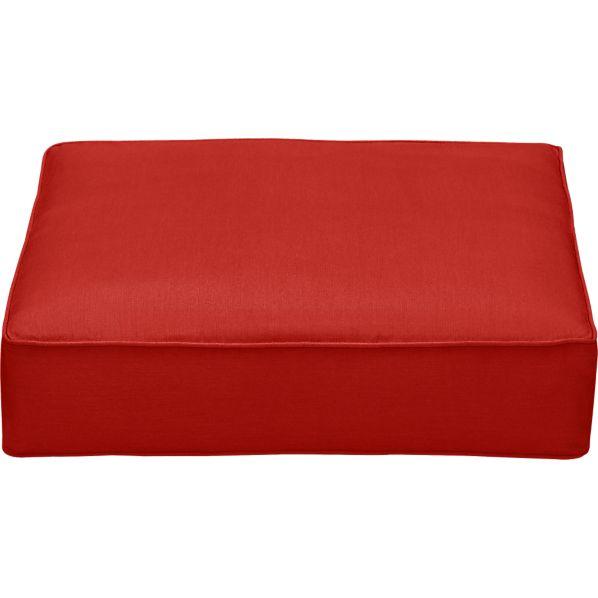 Sunbrella ® Caliente Modular Ottoman Cushion