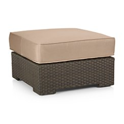 Ventura Ottoman with Sunbrella ® Cushion