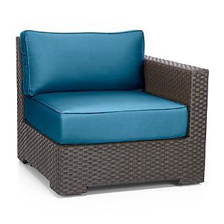 Ventura Modular Right Arm Chair with Sunbrella ® Cushions
