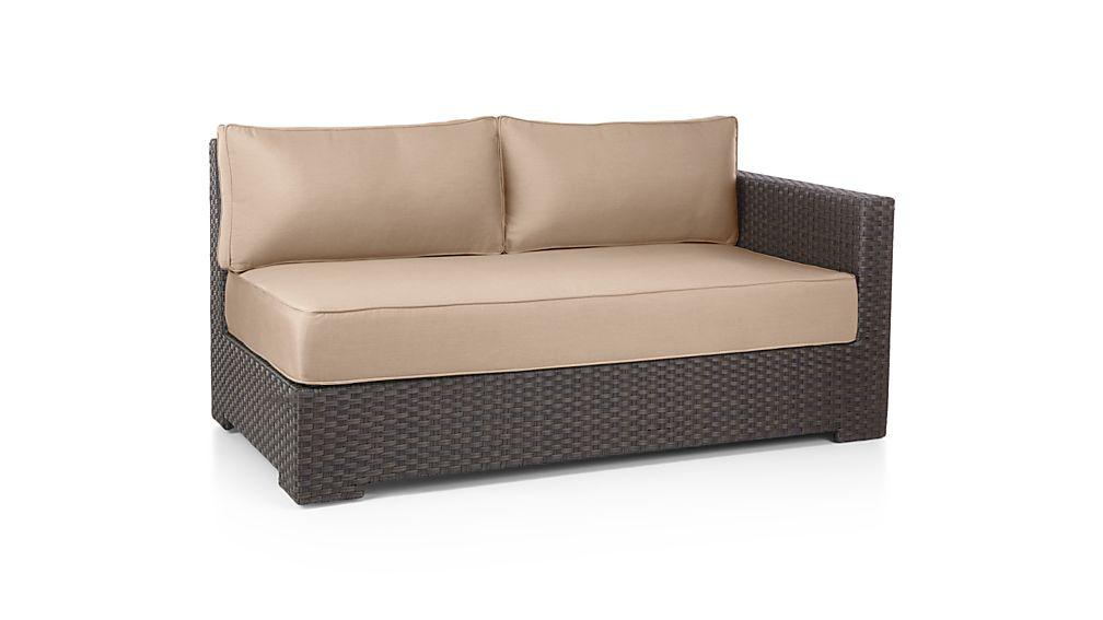 Ventura Modular Right Arm Loveseat with Sunbrella ® Cushions