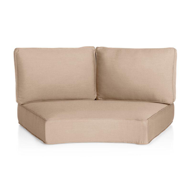 Ventura Round Armless Chair Sunbrella ® Cushion