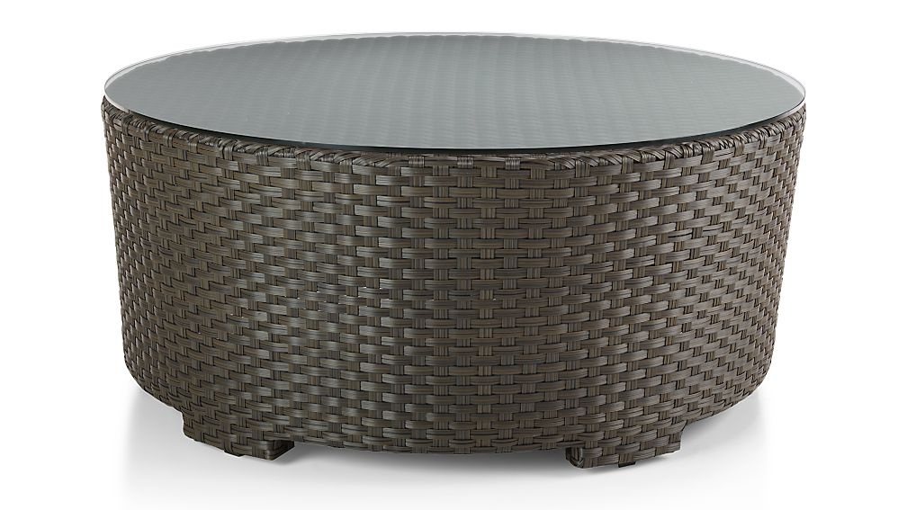 Ventura Round Coffee Table Crate And Barrel