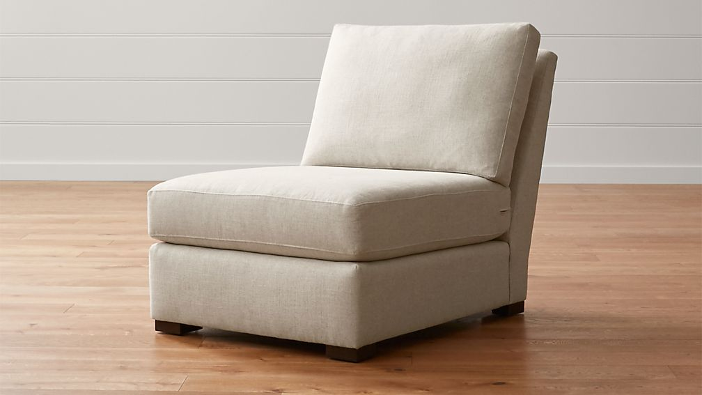 verano armless chair aurora canvas crate and barrel ForCrate And Barrel Armless Chair