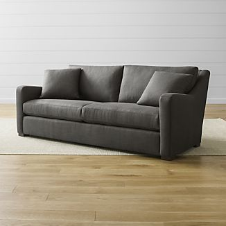 Small Scale Sectional Sofa Crate And Barrel