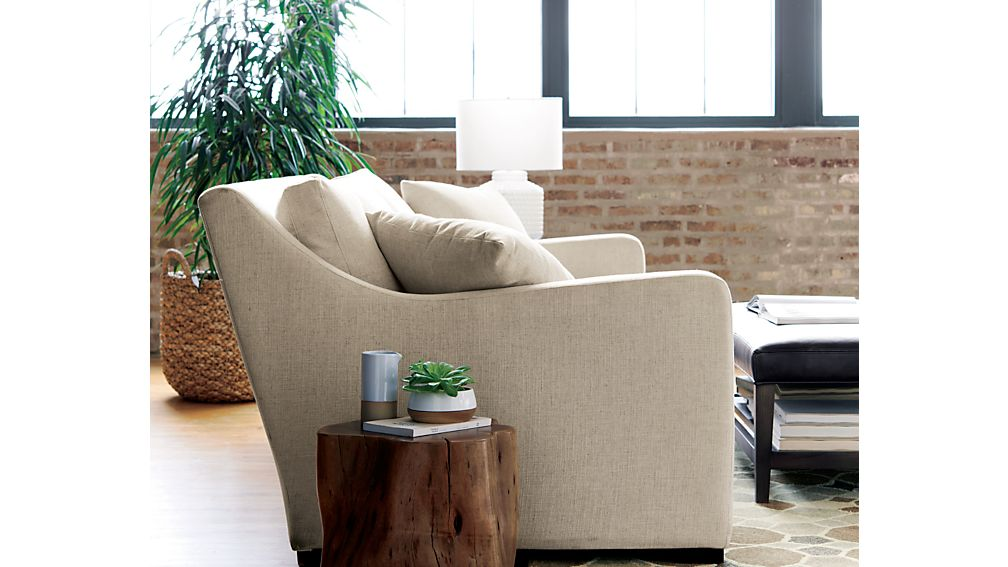 Teton Natural Solid Wood Accent Table Crate And Barrel