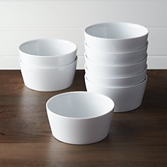 Set of 8 Verge Bowls